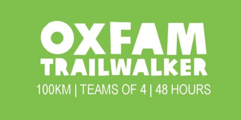 Oxfam Trailwalker event in March 2020