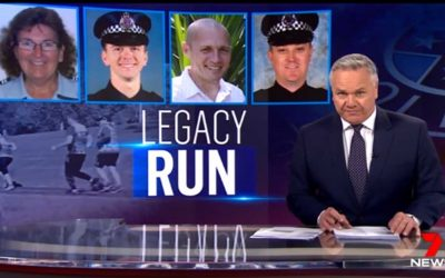 7 News – Police in a moving tribute to the four officers killed in the line of duty